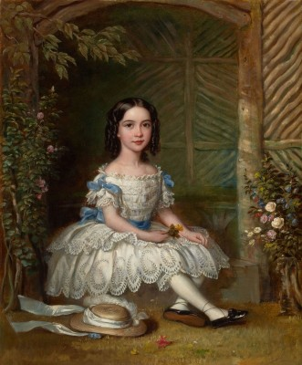 Portrait of a Young Lady, c.1835, Oil on Canvas
