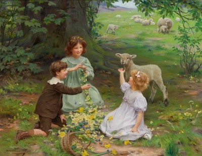 The Joy of Spring, c.1911, Oil on Canvas