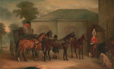 The Drag of Sir Watkin Williams, c.1843, Oil on Canvas