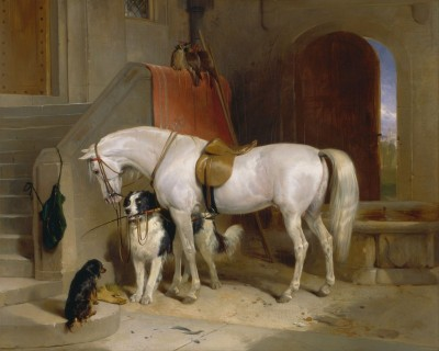 Favorites, owned by Prince George of Cambridge, c.1835, Oil on Canvas