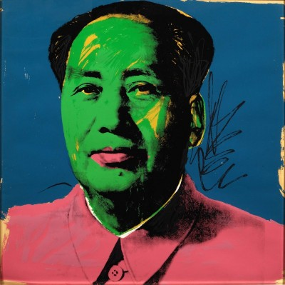 Chairman Mao, c.1972, Screenprint in Colors