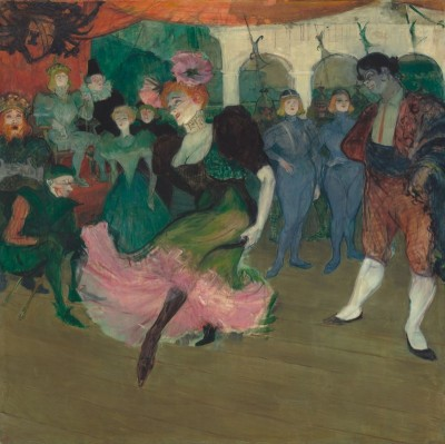 Marcelle Lender Dancing the Bolero in Chilpric, c.1895, Oil on Canvas