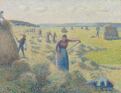Haymaking, Eragny, c.1897, Oil on Canvas