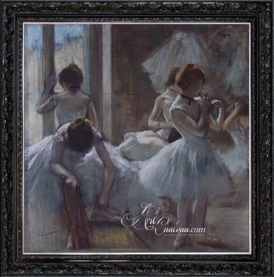 Dancers, after Painting by Edgar Degas