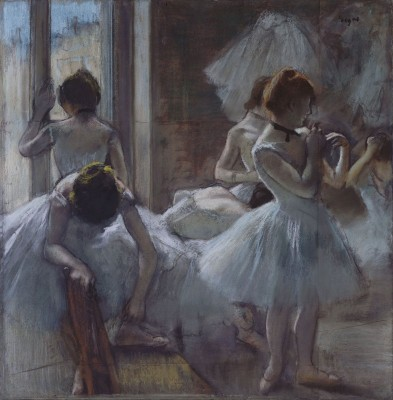 Dancers, c.1885, Oil on Canvas