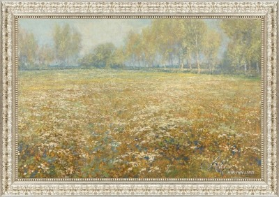 Meadow in Bloom, after Egbert Rubertus Derk Schaap