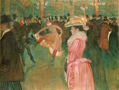 A Dance At the Moulin Rouge, c.1895, Oil on Canvas
