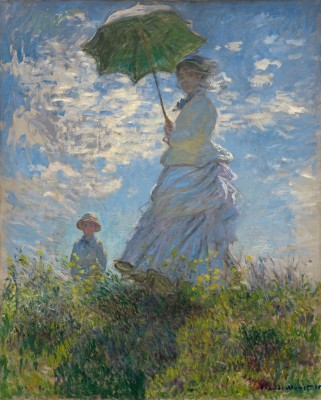 Madame Monet and Her Son, c.1872, Oil on Canvas