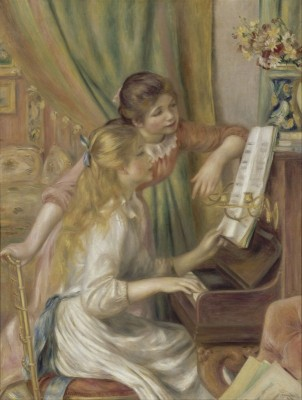 Young Girls at the Piano, c.1892, Oil on Canvas