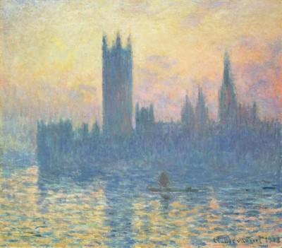 The Houses of Parliament, Sunset, c.1903, Oil on Canvas