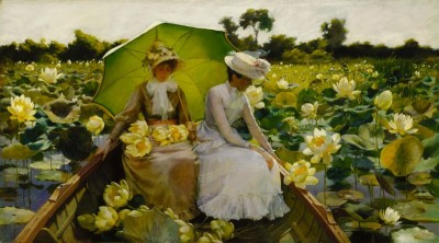 Lotus Lilies, c.1888, Oil on Canvas