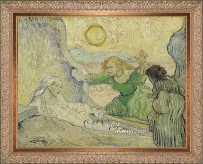 The Raising of Lazarus, after Vincent Van Gogh
