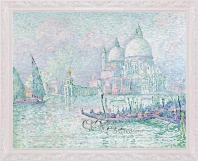 Venice La Salute, after Painting by Paul Signac
