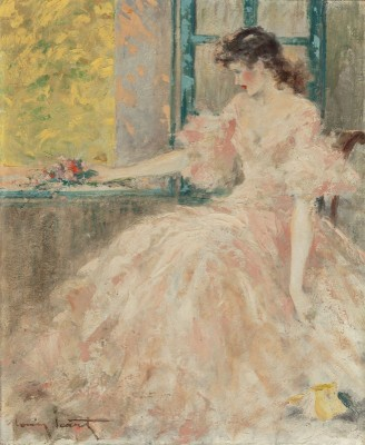 Femme Pensive, c.1920, Oil on Canvas