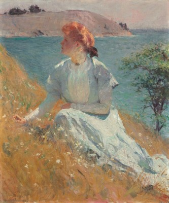 Margaret Strong, c.1909, Oil on Canvas