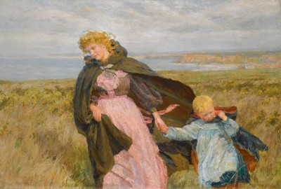 The Breeze's Kiss, c.1888, Oil on Canvas