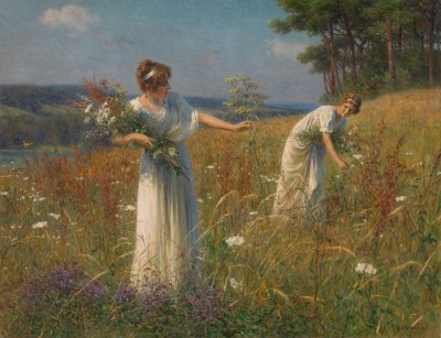 Wild Flowers, c.1898, Oil on Canvas