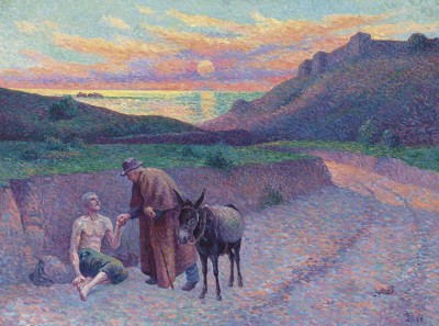 The Good Samaritan, c.1910, Oil on Canvas