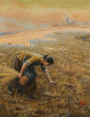 Gleaning, c.1891, Oil on Canvas