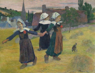 Breton Girls Dancing, Pont-Aven, c.1888, Oil on Canvas