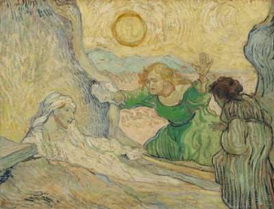 The Raising of Lazarus, c.1890, Oil on Canvas