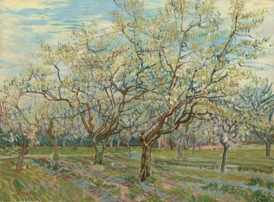 White Orchard, c.1888, Oil on Canvas