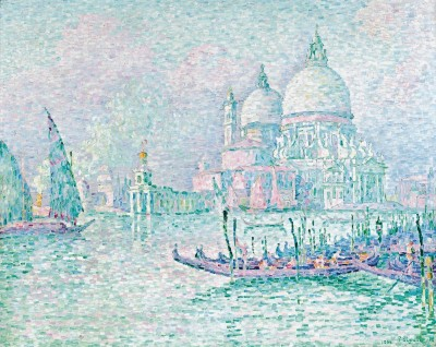 Venice La Salute, c.1908, Oil on Canvas