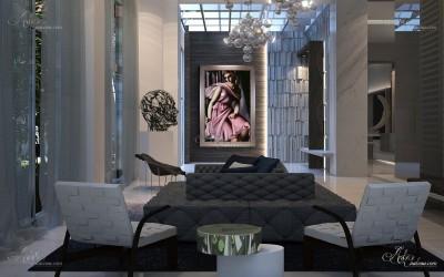 Tribeca Interior Designers, after Tamara de Lempicka