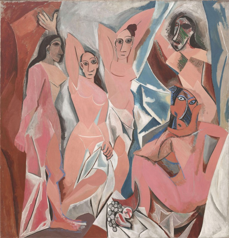 Les Demoiselles d 'Avignon, c.1907, Oil on Canvas
