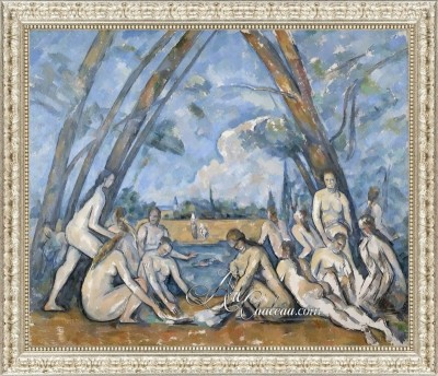 The Large Bathers, after Paul Cezanne