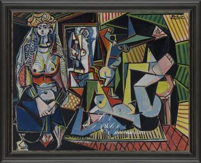 Les Femmes d'Alger, sfter Pablo Picasso