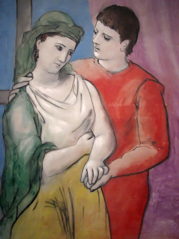 The Lovers, c.1923, Oil on Canvas