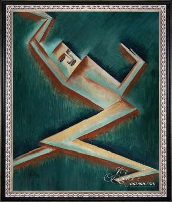 Postava ll, after Modernist artist Otakar Kubín