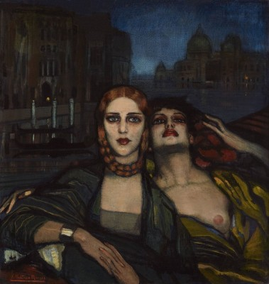 The Venetian Sisters, c.1931, Oil on Canvas