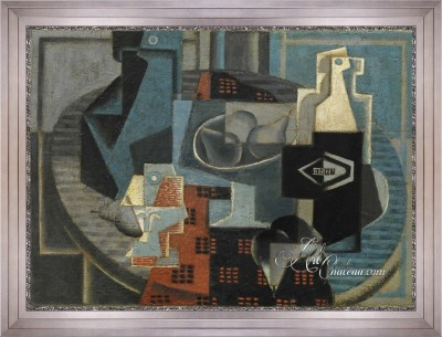 Hudson Square, NYC Interior Design, Jean Metzinger Painting