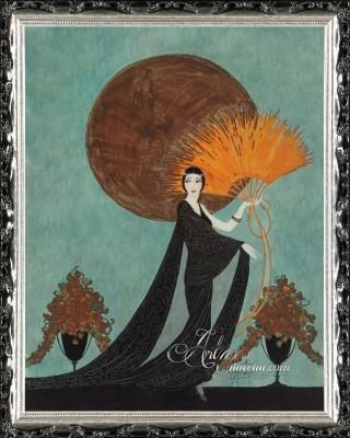 Golden Book Magazine Cover, after Constance Wheeler