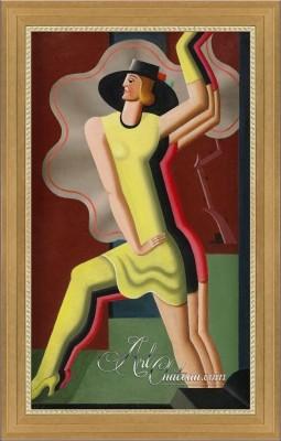 Art Deco Interior Design Painting, after Esaias Thoren
