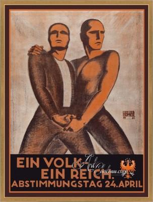 Mid-Century Modern Poster, after Leo Sebastian Humer