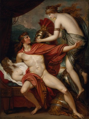 Thetis Bringing the Armor to Achilles, c.1804, Oil on Canvas