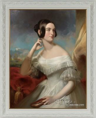 Miss Jane Mercer, after American artist Samuel Bell Waugh
