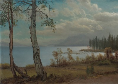 Lake Tahoe, c.1881, Oil on Canvas