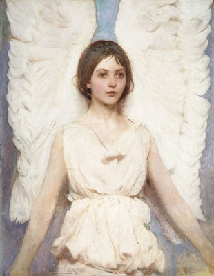 Angel, c.1887, Oil on Canvas