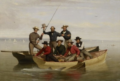 A Fishing Party Off Long Island, c.1860, Oil on Canvas