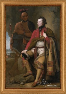 Portrait of Colonel Guy Johnson, after Benjamin West