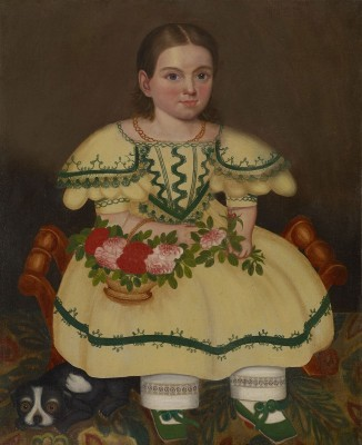Martha Ellen Connell, c.1838, Oil on Canvas