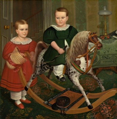 The Hobby Horse, c.1917, Oil on Canvas
