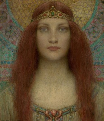 Portrait of a Goddess, c.1901, Oil on Canvas