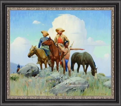 The Trail Ahead, after Gerard Curtis Delano