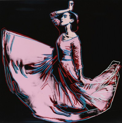 Martha Graham, c.1986, Silkscreen in Colors