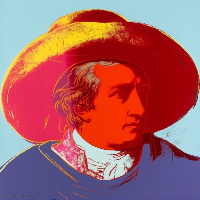 Johann Wolfgang von Goethe, c.1982, Silkscreen in Colors